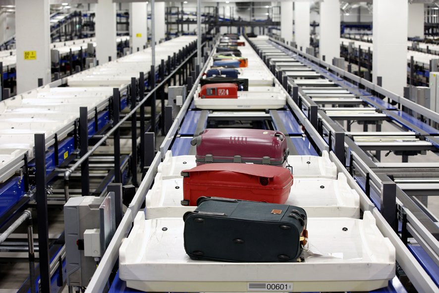 Airport Baggage Handling Scan : Airport baggage handling systems beumer group