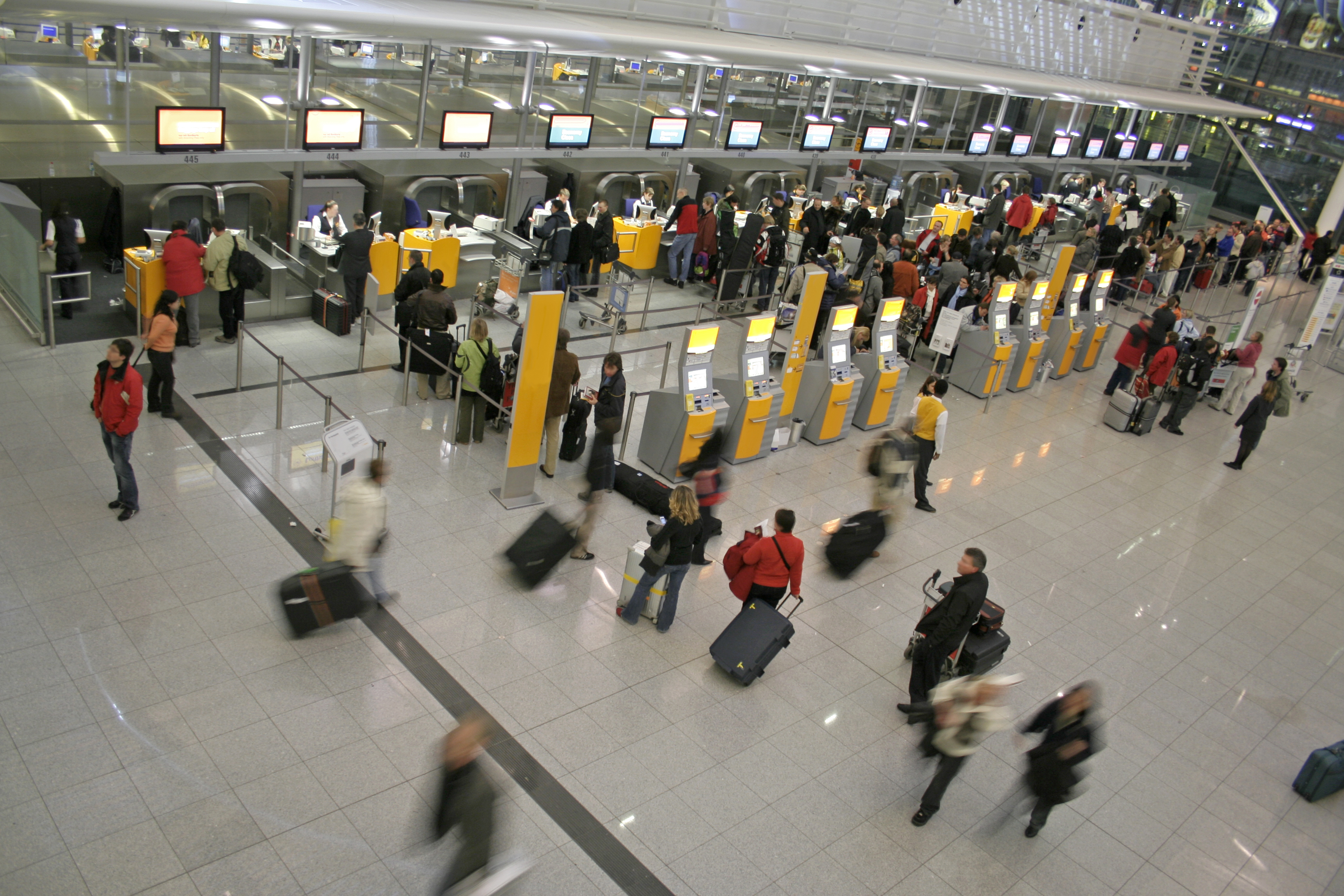 Are airports considered suppliers to airlines?