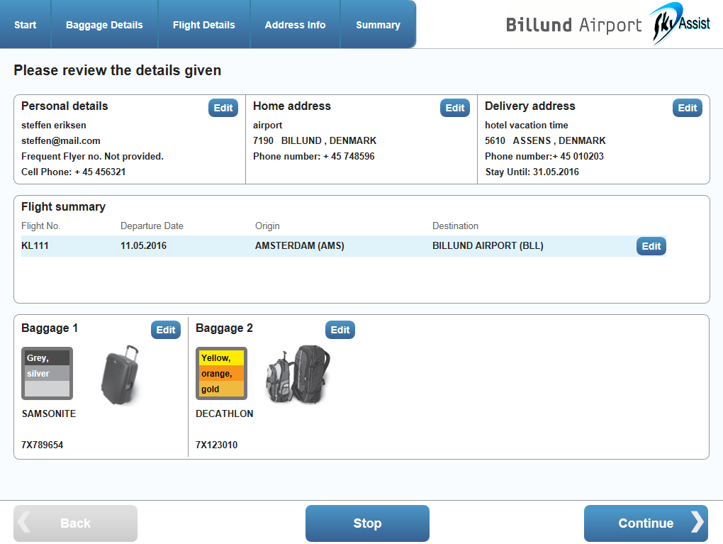 Lost and Found Luggage Tracing Software - Sky Assist