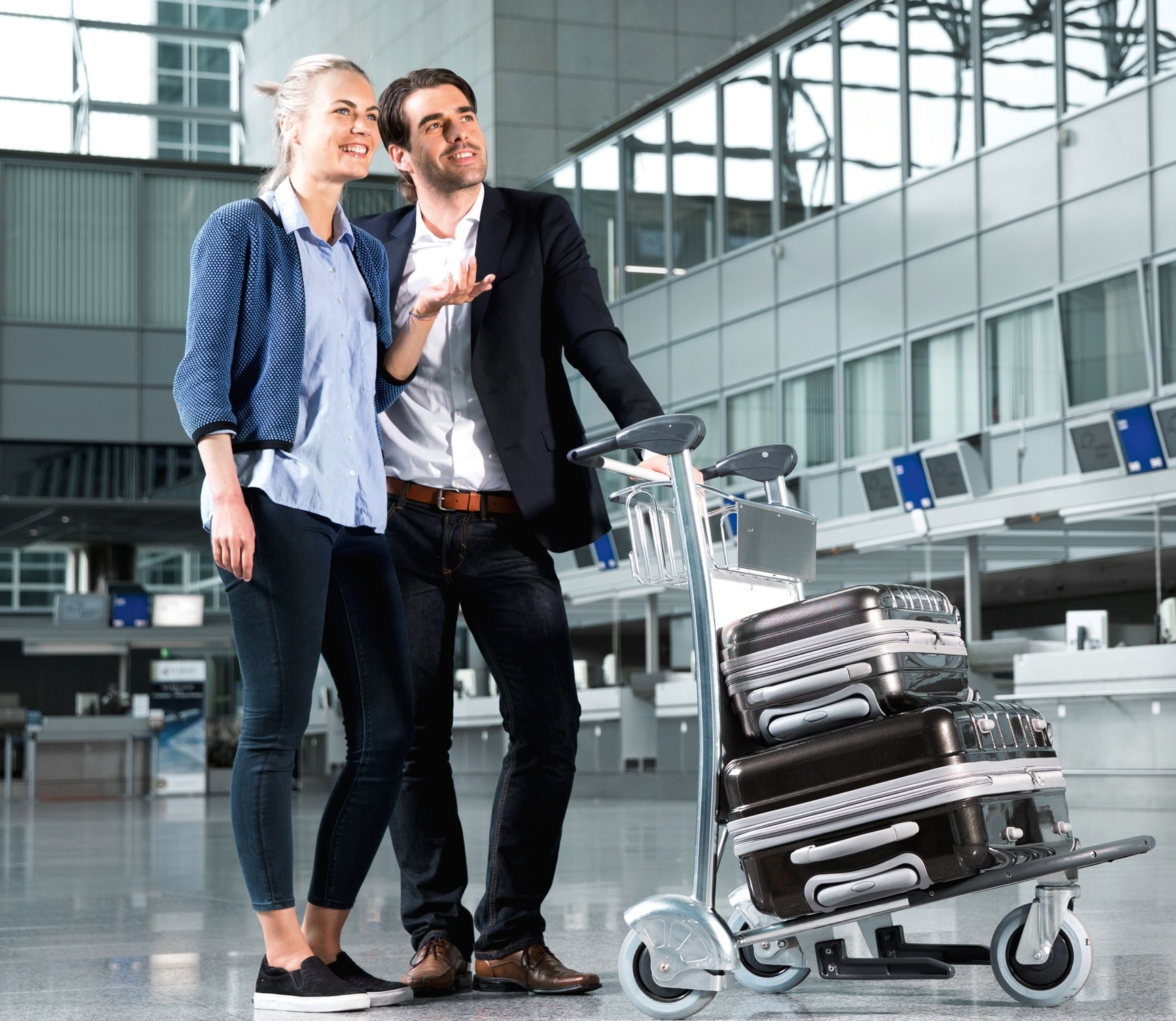 Wanzl Luggage Trolleys Passenger Guidance Systems