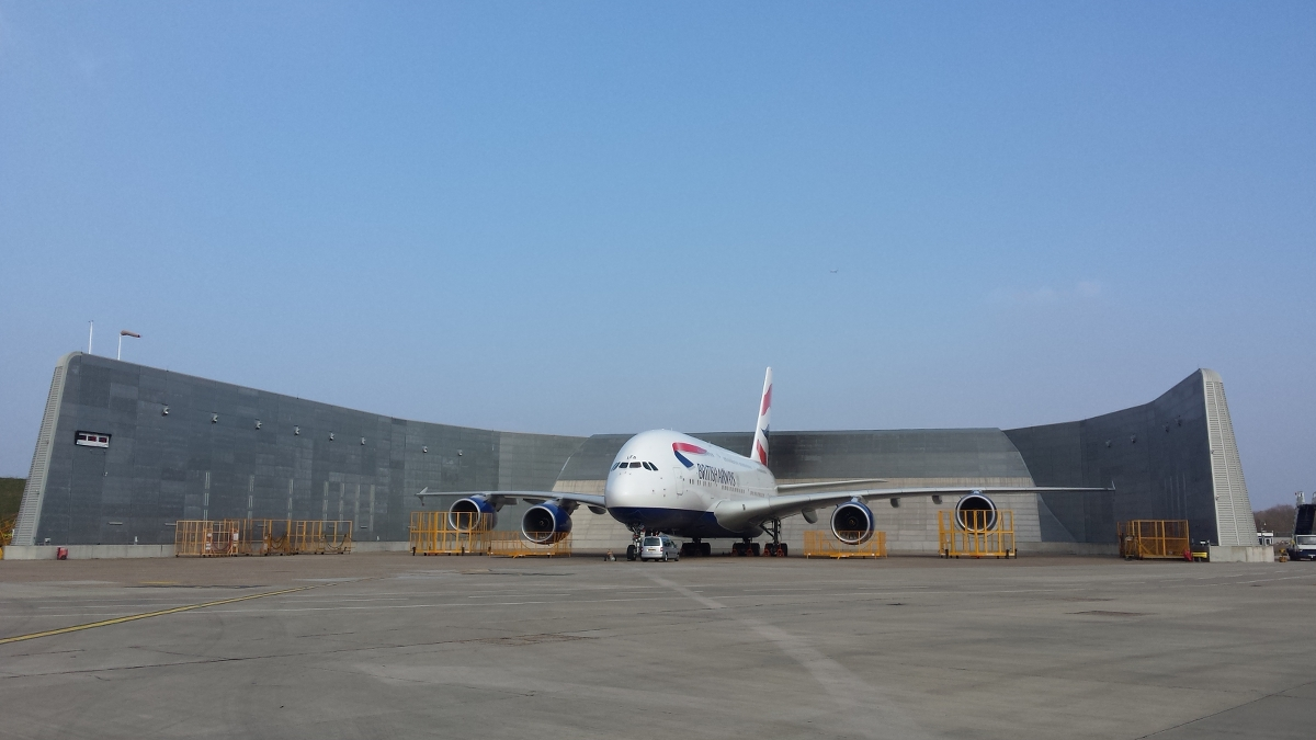 Jet Blast Protection and Airport Acoustic Solutions - IAC Acoustics