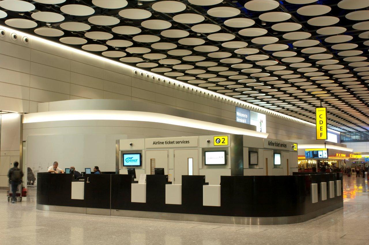 Sas International Airport Metal Ceilings Rafts And Discs
