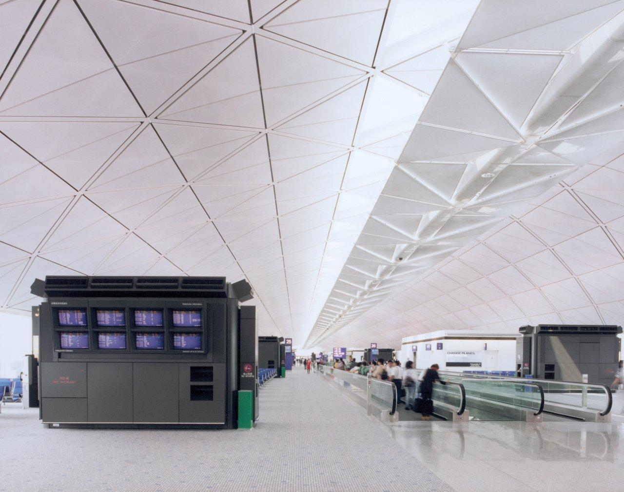 Sas International Airport Metal Ceilings Rafts And Discs