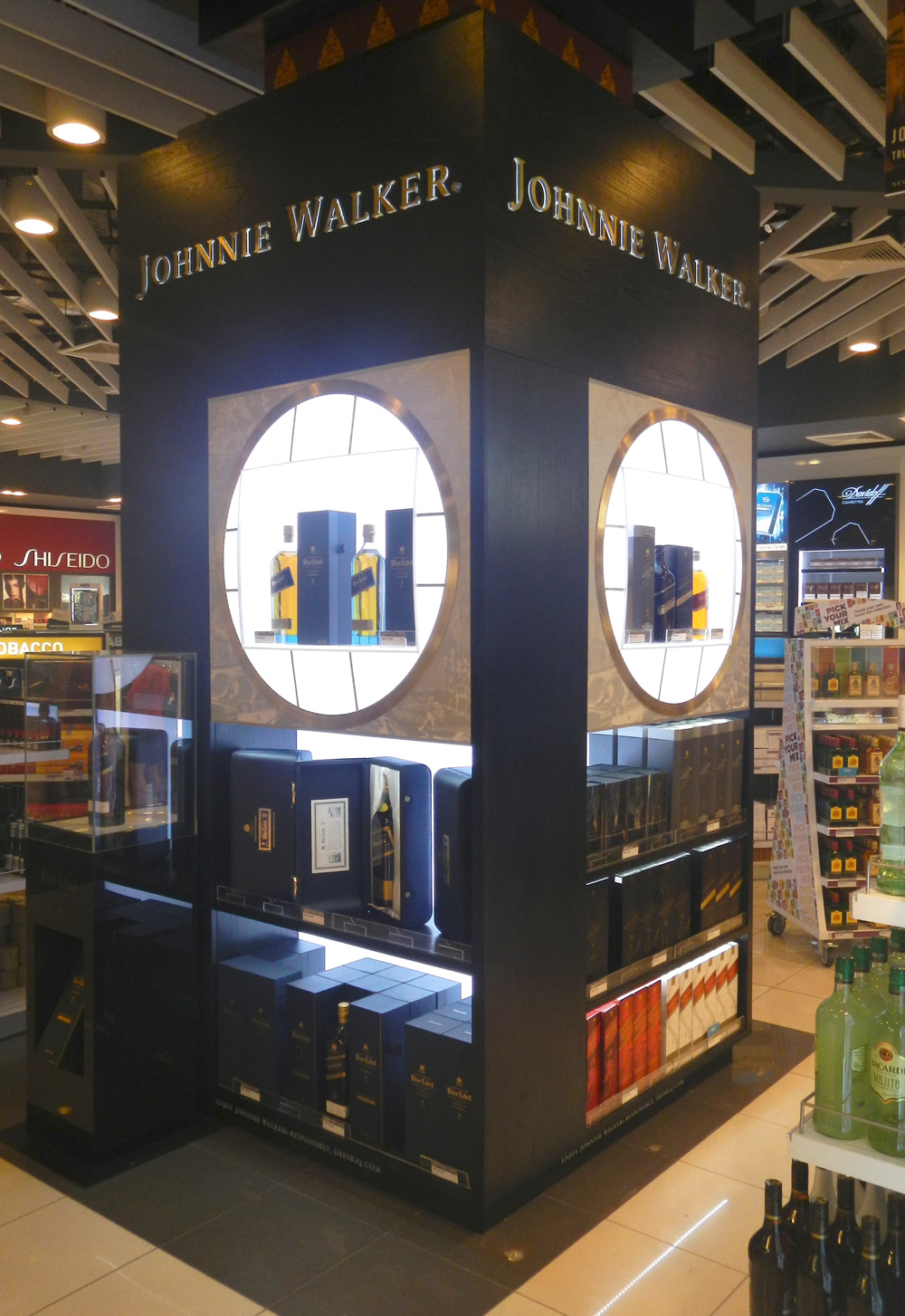 Airport Duty Free Retail Displays - Concourse Display Management
