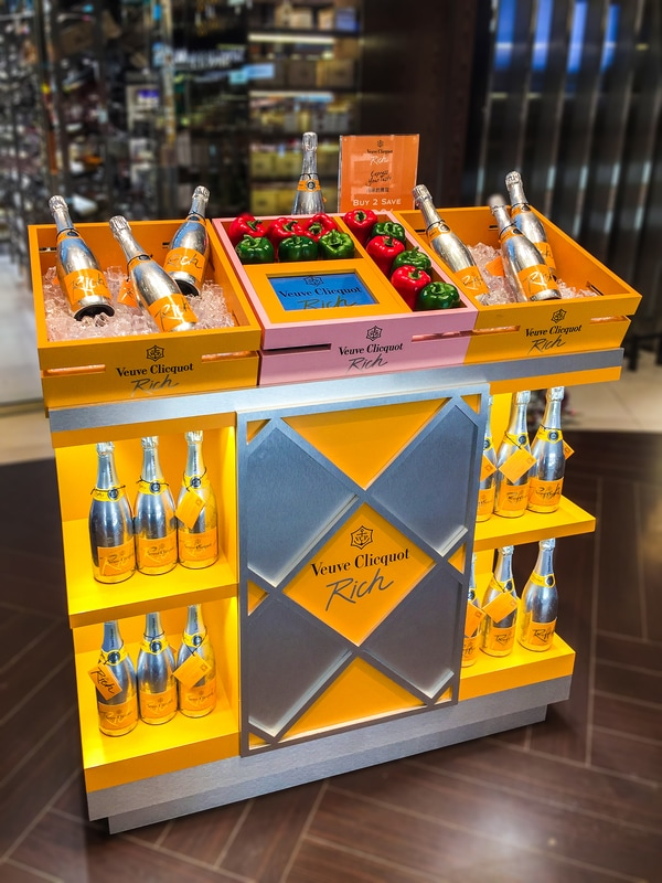 Airport Duty Free Retail Displays Concourse Display