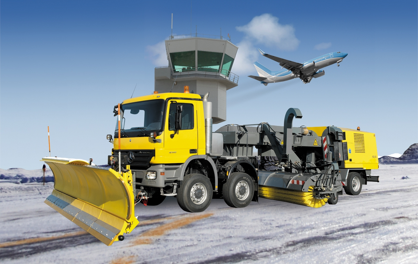 Blower Snow Removal Equipment : Airport snow clearing zaugg