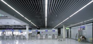 Airport Perforated Metal Ceilings