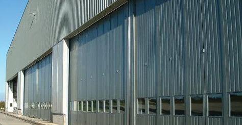 Jewers Doors Limited Esavian Aircraft Hangar Doors