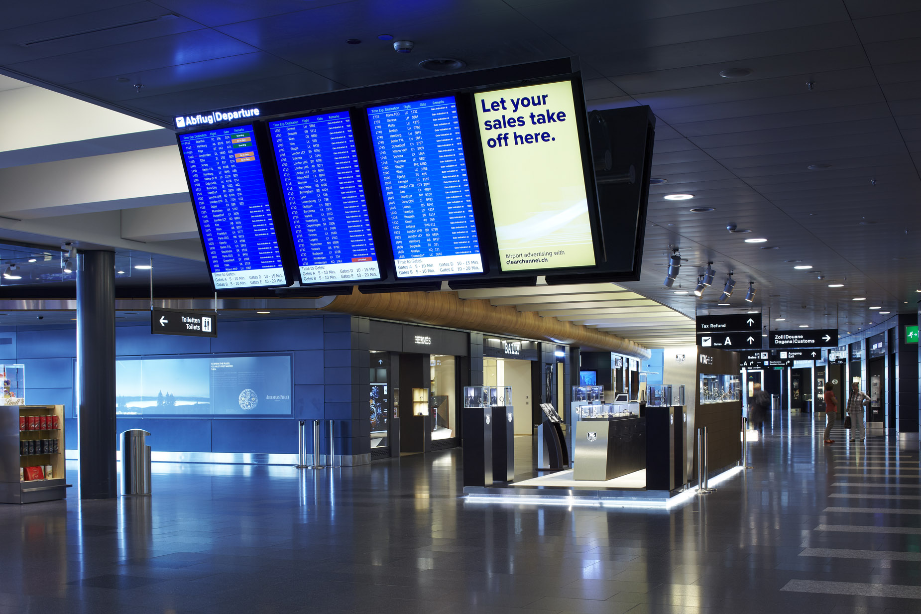 Airport Suppliers Nec Display Solutions Airport