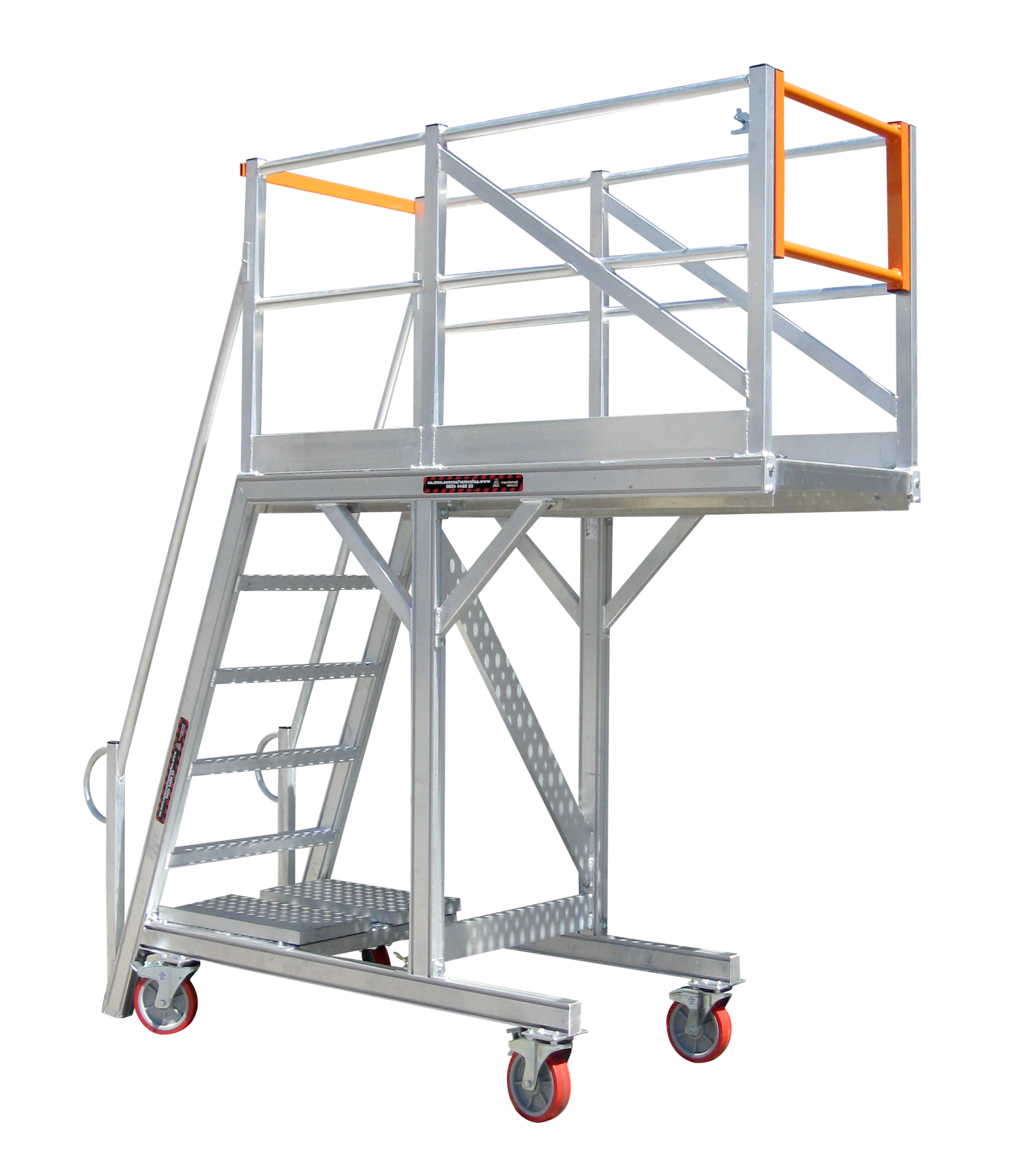 Types Of Portable Scaffolding : Maintenance stands platforms and specialised ladders