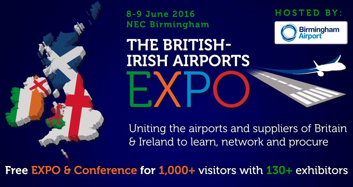 British-Irish Airport Expo large logo