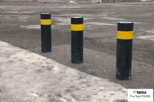 Airport High Security Hostile Vehicle Mitigation Road Blockers