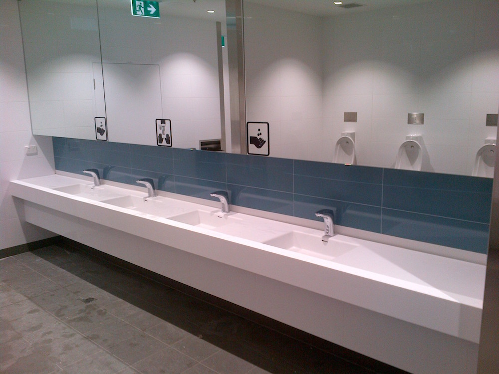 A Perfect Combination Of Style And Function, The Washroom Installations  Delivered An Enjoyable User Experience That Will Stand Up To The Rigours Of  Heavy ...
