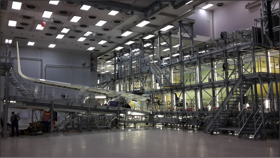REEL built the new Docking Systems for the AIRBUS A320 Paint
