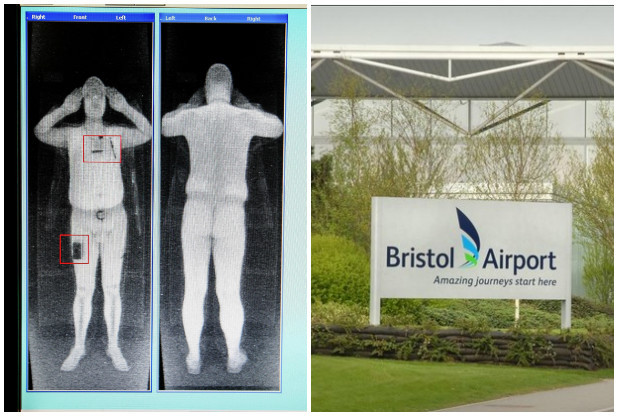 Bristol airport unveils full body security scanners airport new full body scanners have come into operation at bristol airport which passengers have to be taken before entering the departures lounge m4hsunfo