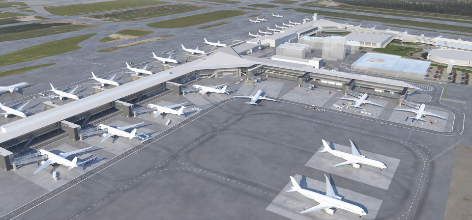 Construction work begins on west wing expansion at Helsinki Airport