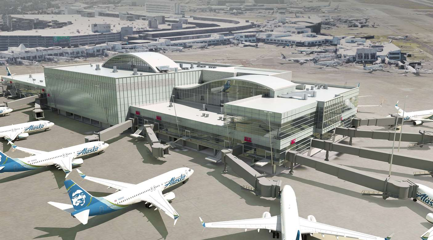 Seattle Tacoma International Airport Unveils Latest Design