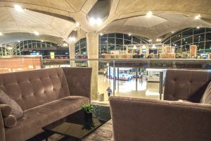 Angel sofas at Queen Alia International Airport