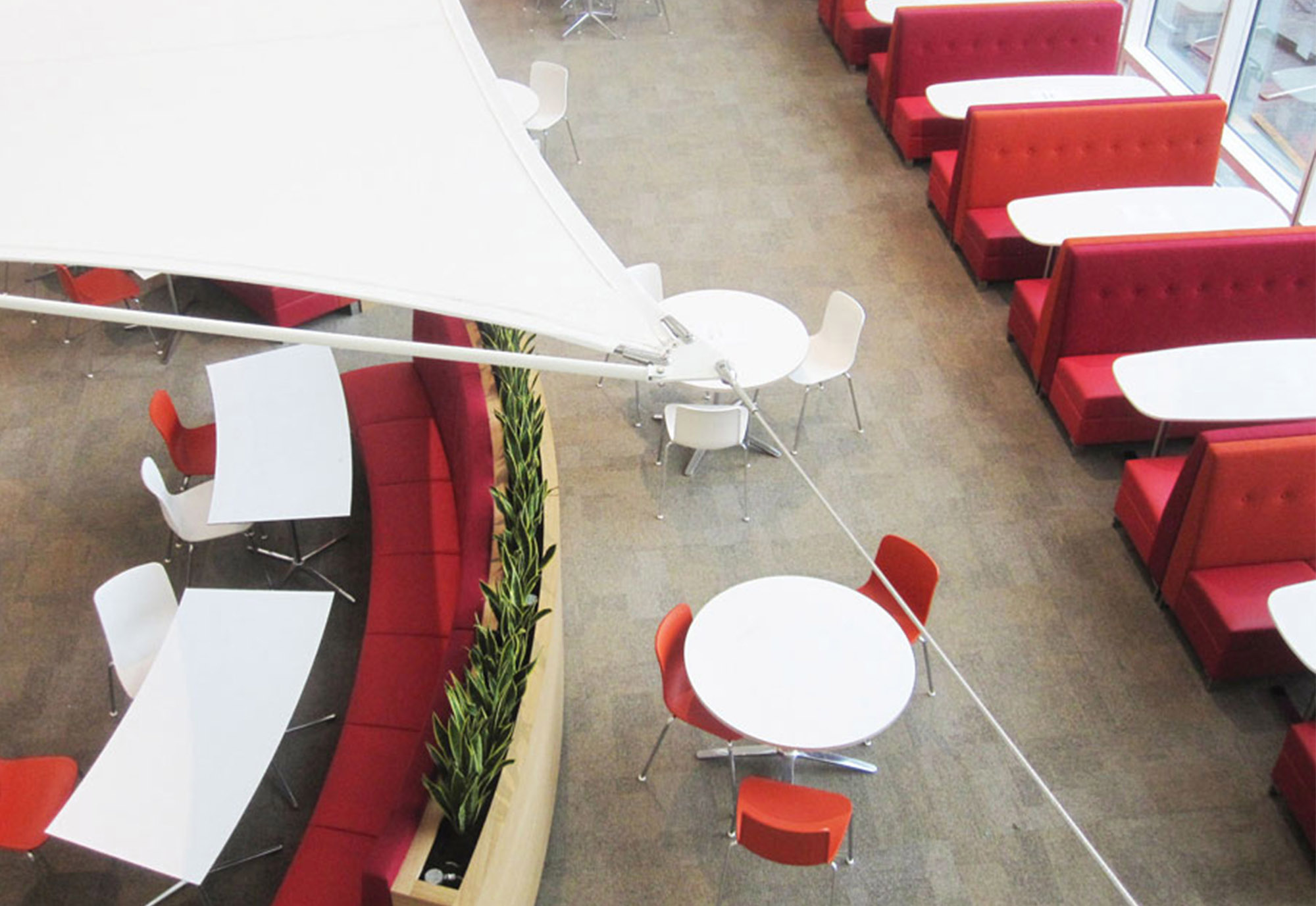 Encounter Banquette seating