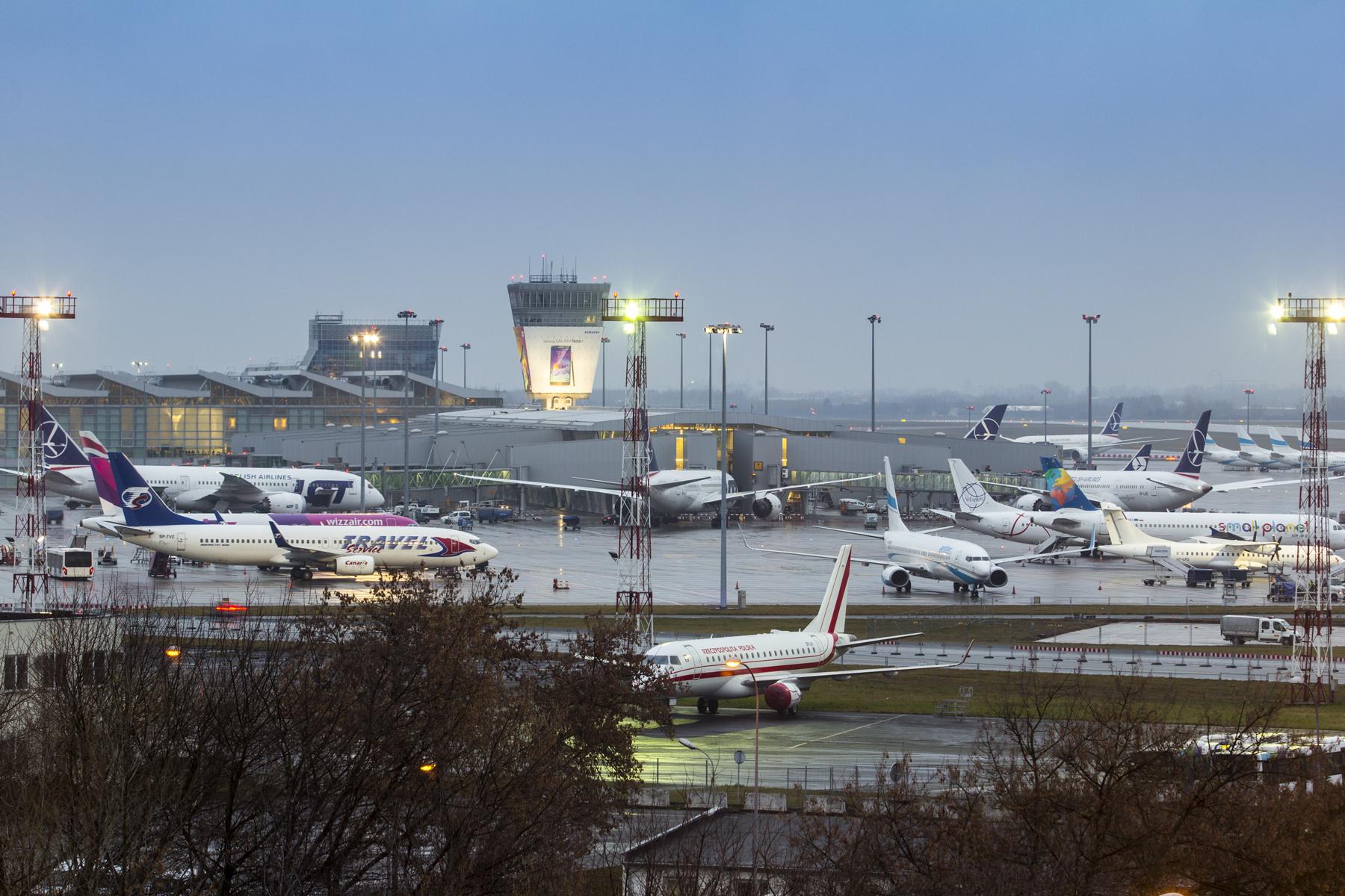 Warsaw Chopin Airport Terminal