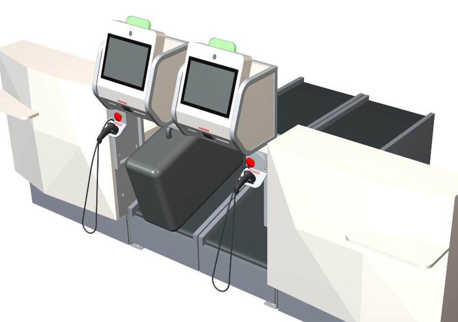 I820 Retrofit Self Bag Drop Airport Suppliers