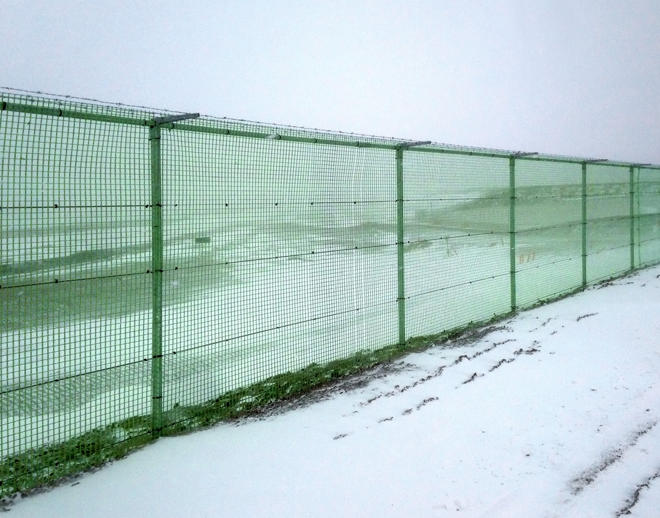 Fibrefence By Fibre Net Airport Fencing Systems Gate