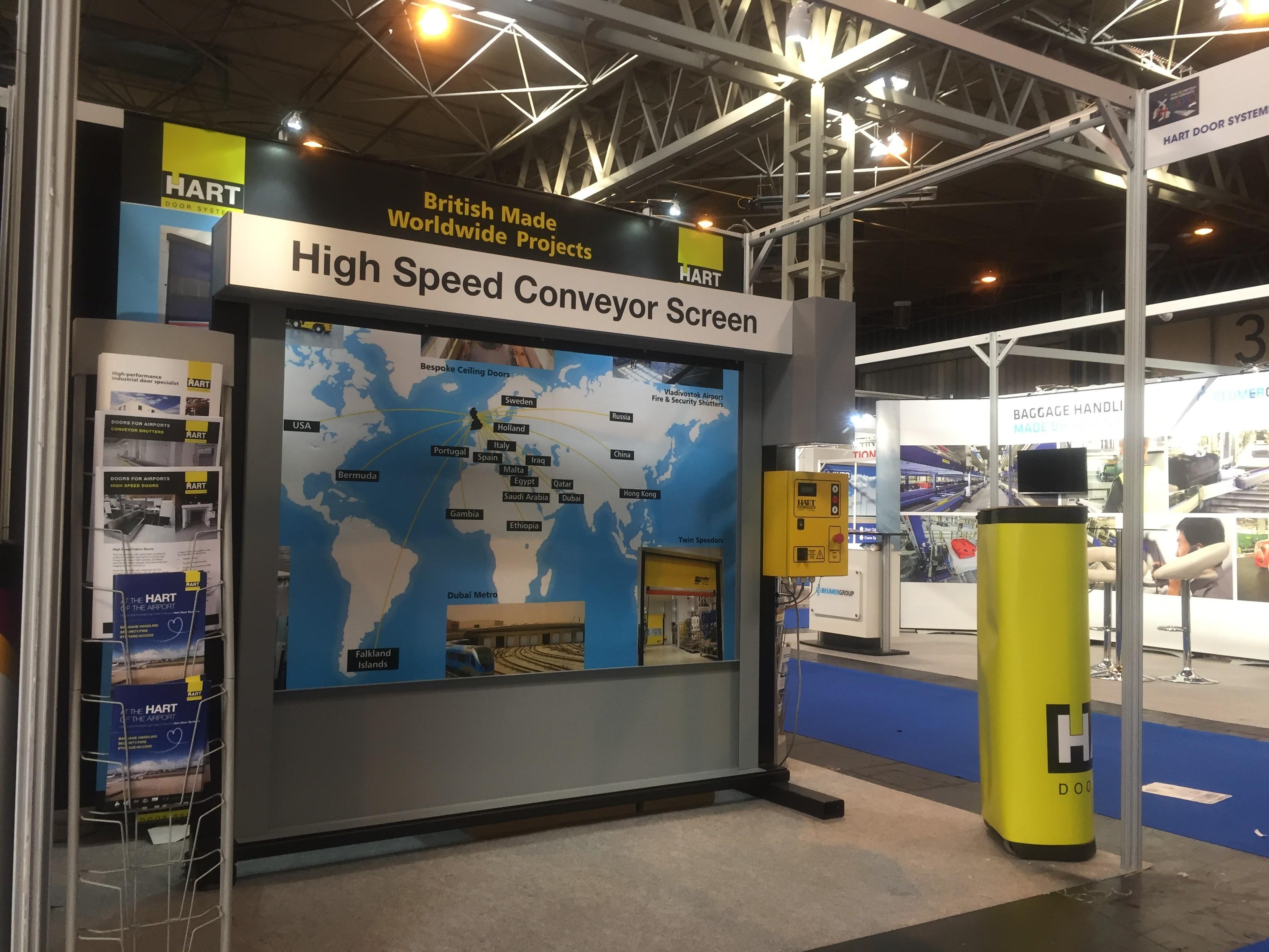 Hart Door Systems - Airport Door Systems for Baggage