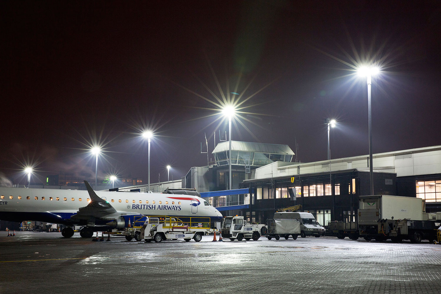Midstream Lighting Our Projects Airport Suppliers
