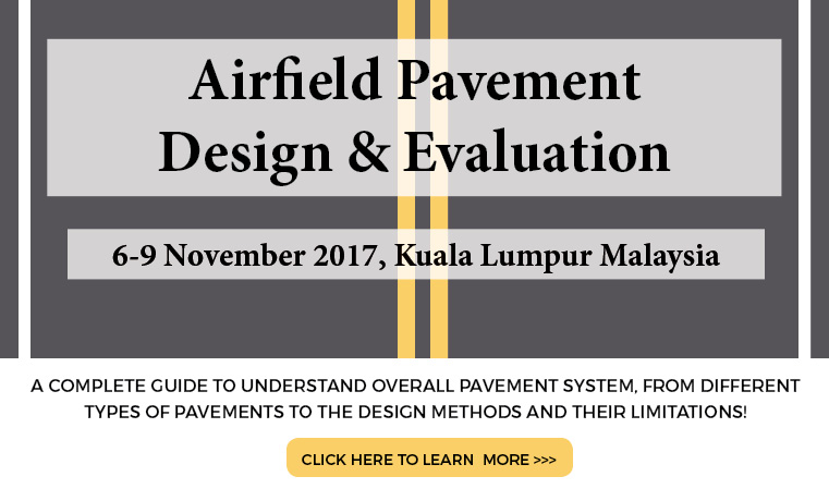 Airfield Pavement Design & Evaluation 2017
