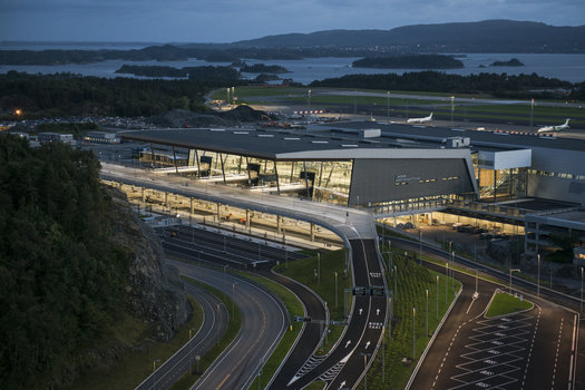 Bergen Airport Terminal