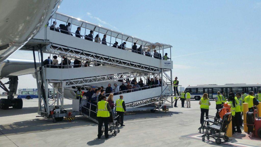 Airfield Passenger Handling