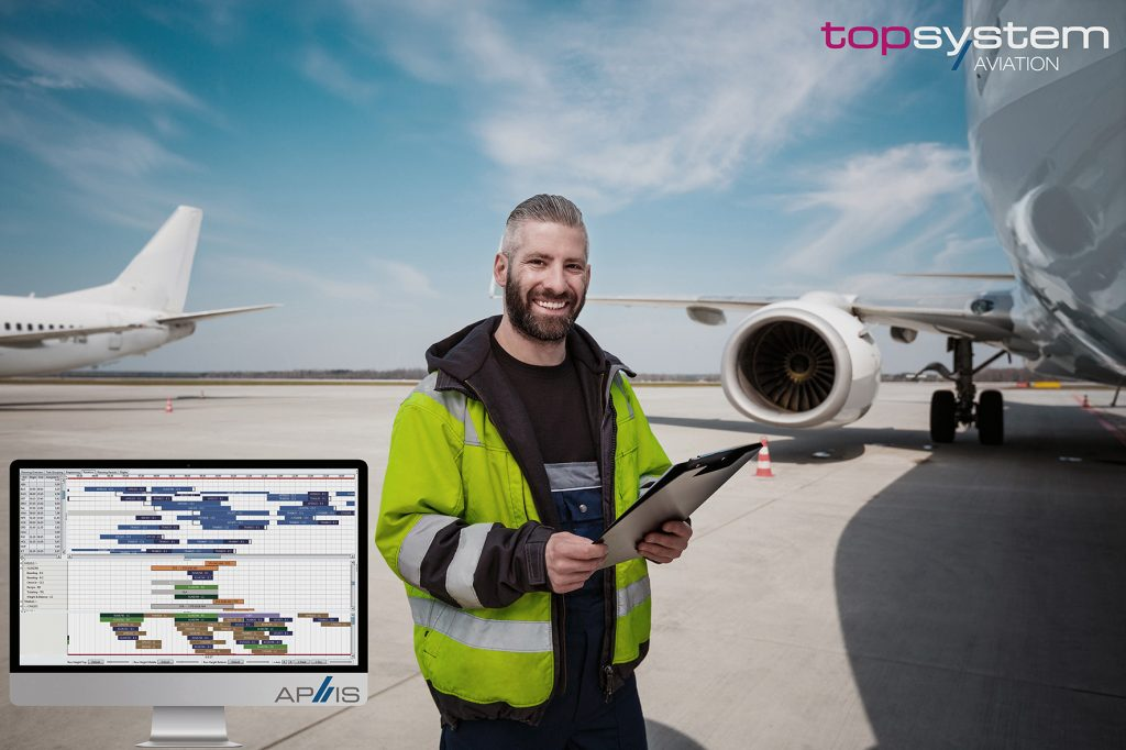 Digital workforce planning for ground handling personnel