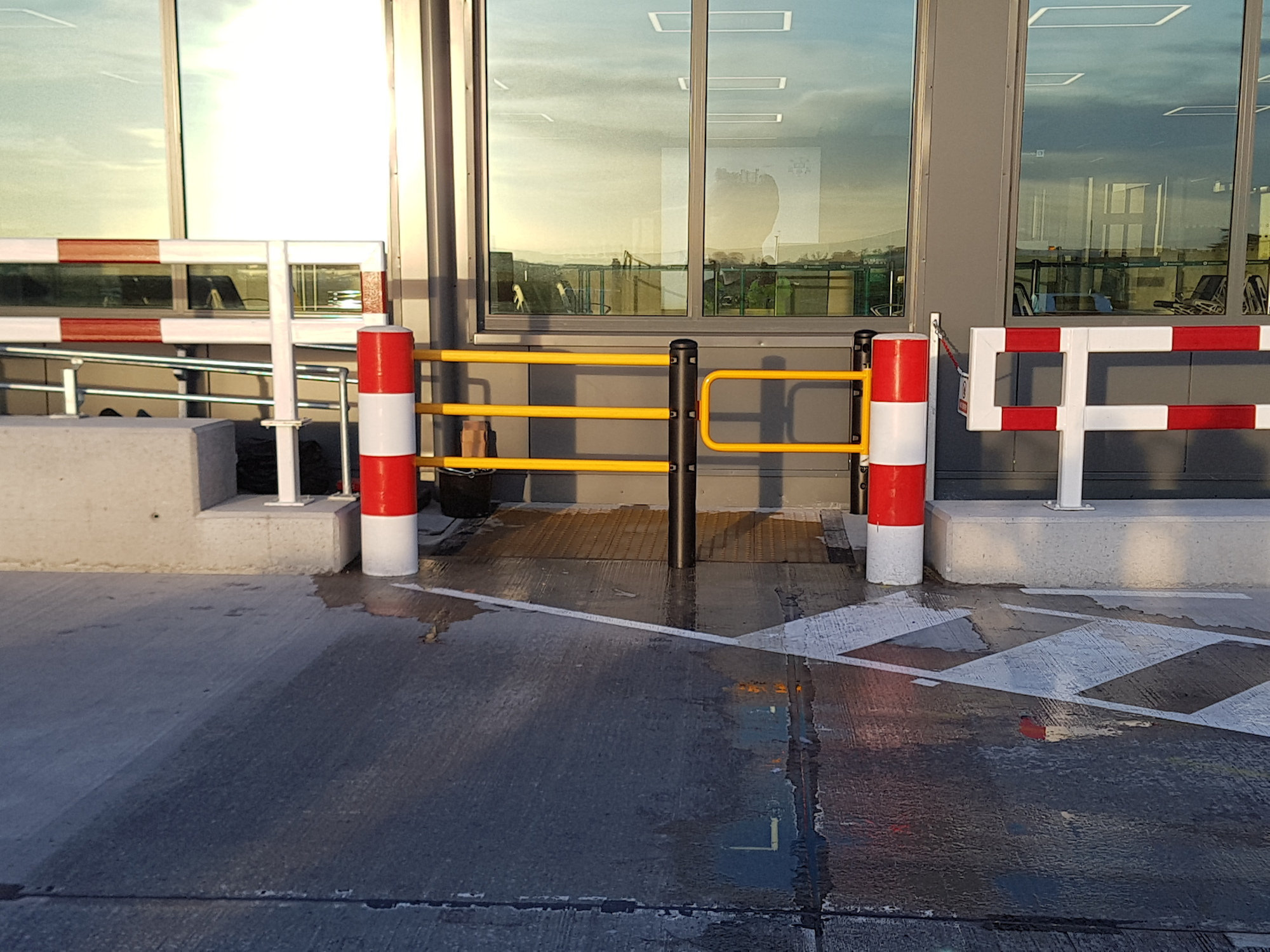 Terminal Barriers