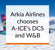Arkia Airlines chooses A-ICE's DCS and W&B