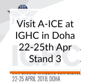 Visit A-ICE at IGHC in Doha from 22-25th April 2018 Stand: 3