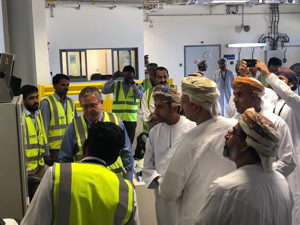 New air cargo terminal launched at the new Muscat