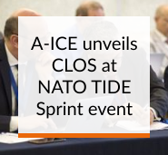 A-ICE unveils CLOS at NATO TIDE Sprint
