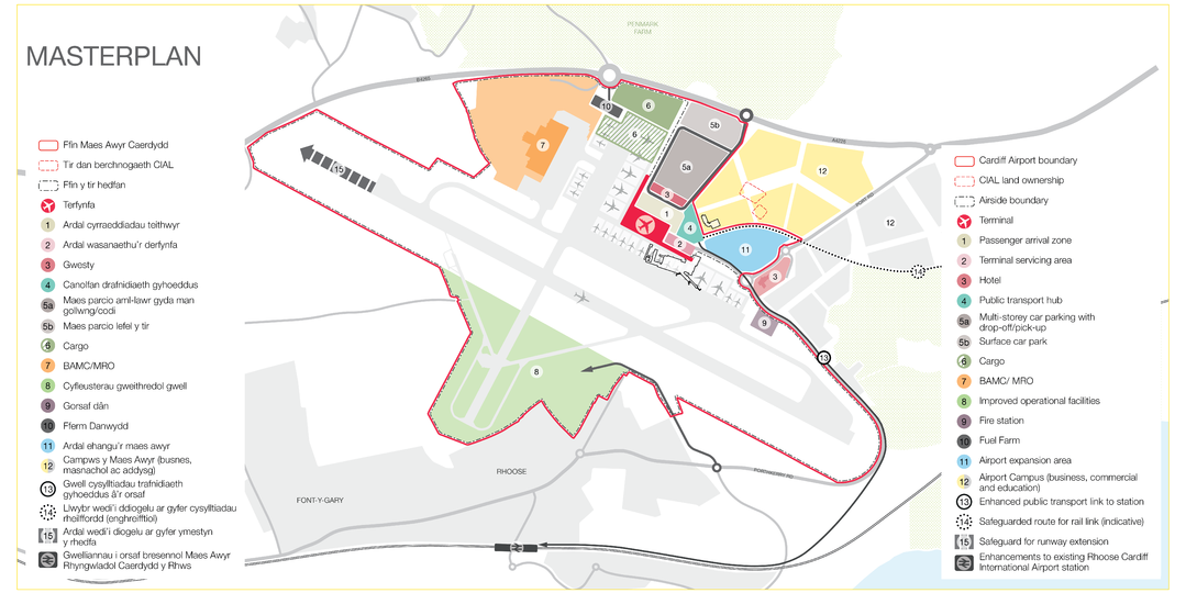 Cardiff Airport Map Cardiff Airport News Map   Airport Suppliers