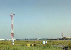 Installation Done of AWOS 10m Tower at Indira Gandhi International Airport, New Delhi, India.