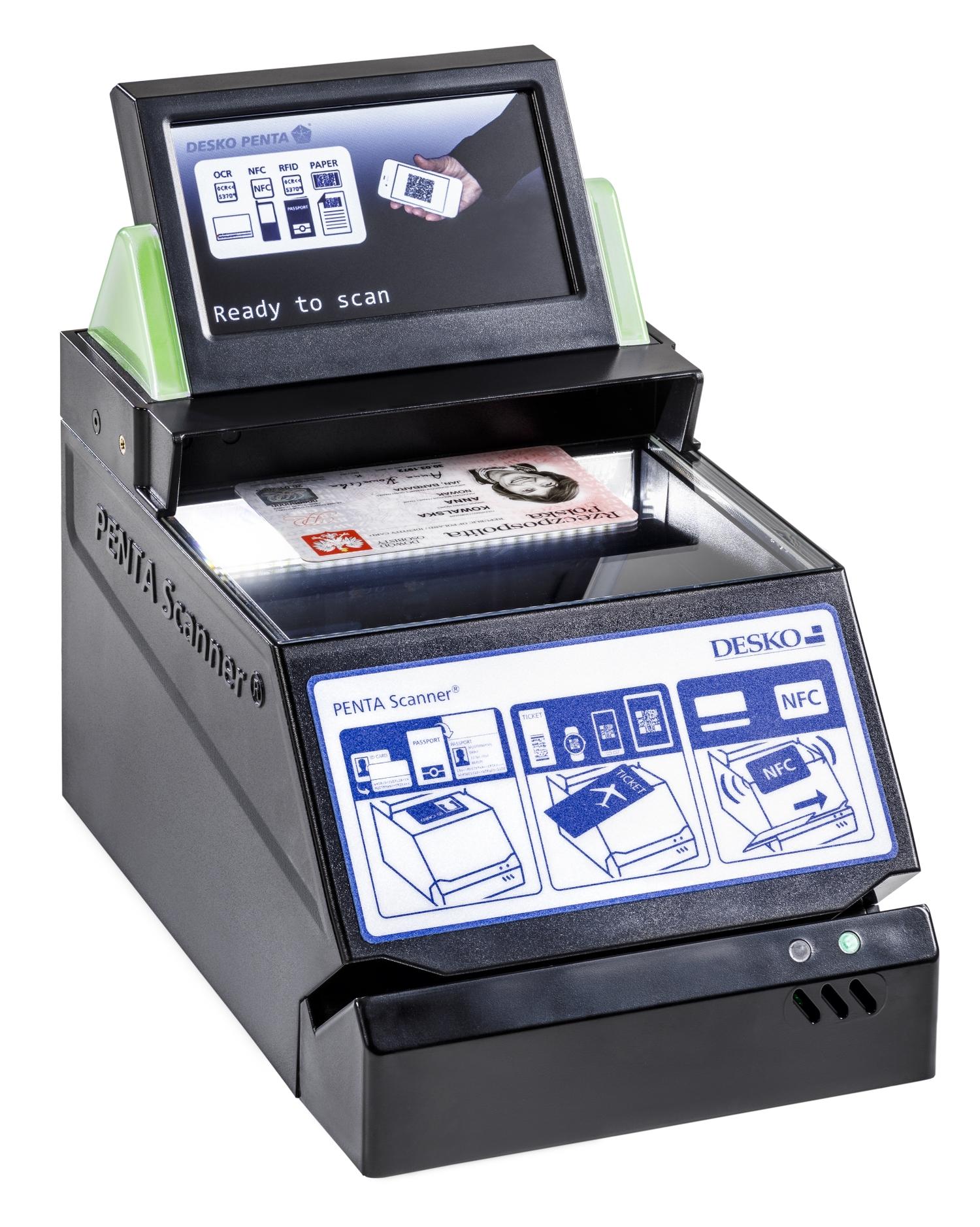 Desko PENTA Scanner ID Card - Airport Suppliers