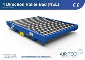4 Way Powered Roller Bed