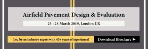 Airfield Pavement Design & Evaluation Masterclass 2019