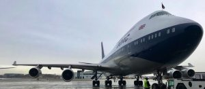 Classic Boeing 747 in BOAC Livery Returns Home to Heathrow for BA100