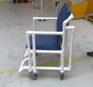 Metal Detector Security Chair