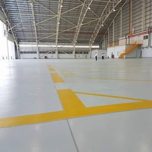 Sika Case Study: FBO Hangar Facility in Phnom Penh, Cambodia