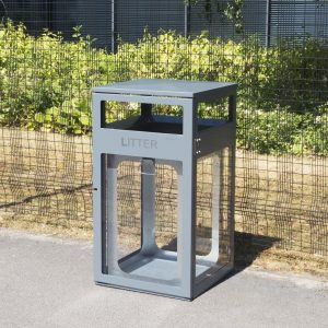BMB2/40 Transparent Security Litter Bin