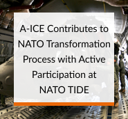 A-ICE Contributes to NATO Transformation Process with Active Participation in the Military Logistics Track at NATO TIDE