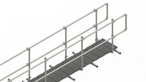 Kee Walk Rooftop Walkway with Guardrail - Airport Suppliers