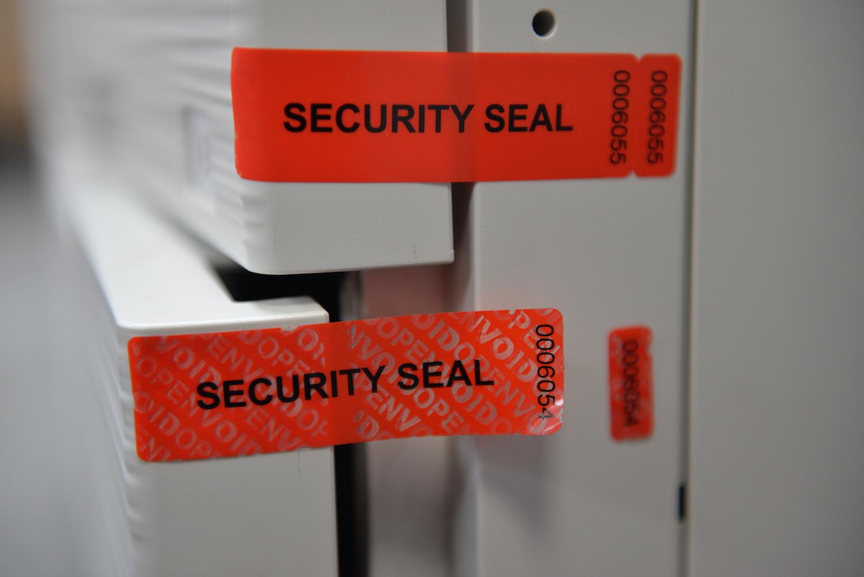 Tamper Evident Aircraft Door Seals