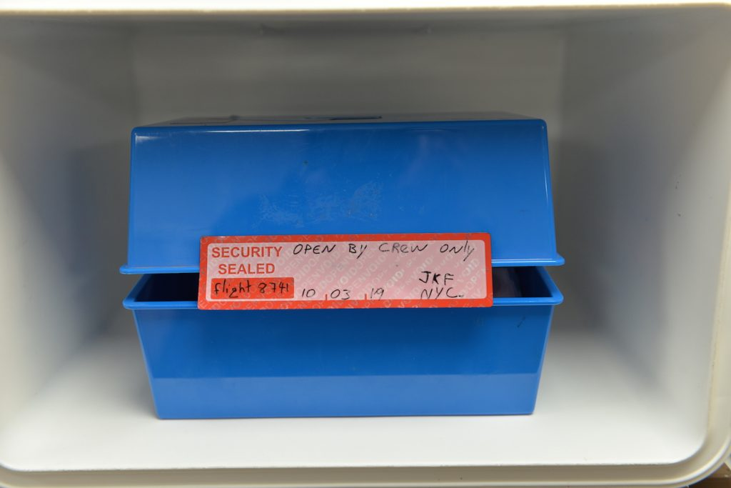 Tamper Evident Labels for Inflight Catering Trolleys